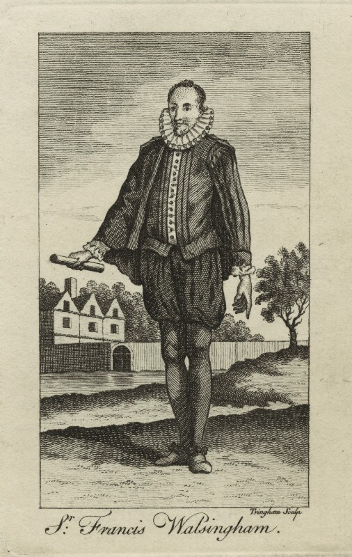 Sir Francis Walsingham, by W. Tringham, possibly mid 18th century - NPG D25356 - © National Portrait Gallery, London