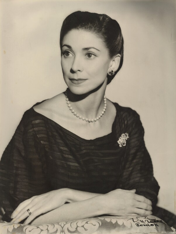 Margot Fonteyn, by Vivienne, 1956 - NPG x6044 - © reserved; collection National Portrait Gallery, London