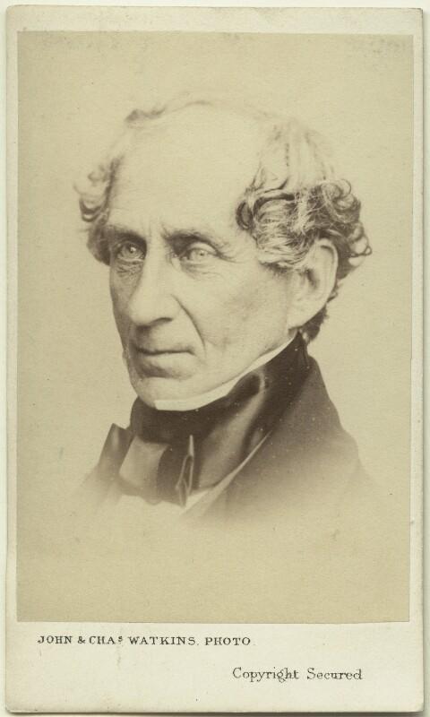 William Ewart, by John & Charles Watkins, 1860s - NPG Ax8676 - © National Portrait Gallery, London