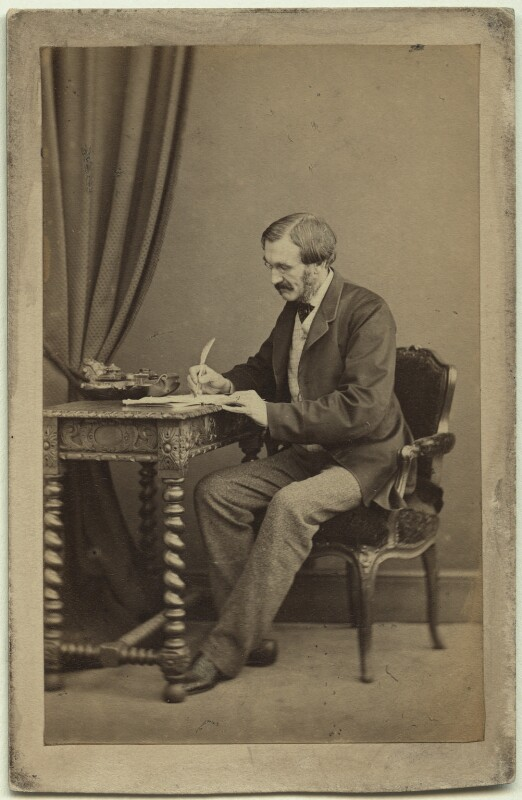 Sir Richard Strachey, by Henry Lenthall, 1866 - NPG x13041 - © National Portrait Gallery, London