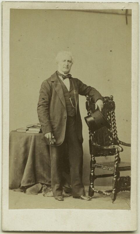 Carlo Marochetti, by Caldesi, Blanford & Co, early 1860s - NPG x38984 - © National Portrait Gallery, London