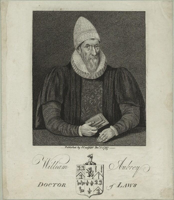 William Aubrey, published by James Caulfield, published 1797 - NPG D25378 - © National Portrait Gallery, London