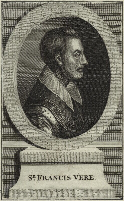Sir Francis Vere, after Unknown artist, probably mid 18th century - NPG D25393 - © National Portrait Gallery, London