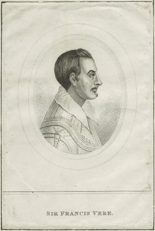 Sir Francis Vere, after Unknown artist, probably early 19th century - NPG D25397 - © National Portrait Gallery, London