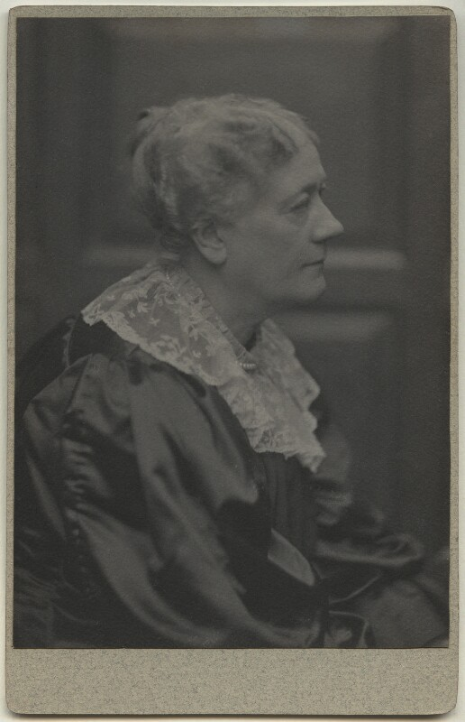 Jane Maria (née Grant), Lady Strachey, by Frederick Hollyer, 1890s - NPG x13045 - © National Portrait Gallery, London