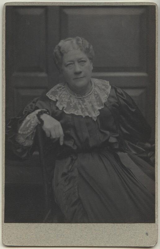 Jane Maria (née Grant), Lady Strachey, by Frederick Hollyer, 1890s - NPG x13048 - © National Portrait Gallery, London