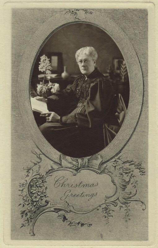 Jane Maria (née Grant), Lady Strachey, by Elliott & Fry, 1890s - NPG x26198 - © National Portrait Gallery, London