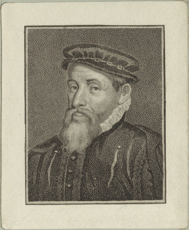 Sir Thomas Gresham, after Unknown artist, possibly early 19th century - NPG D25437 - © National Portrait Gallery, London