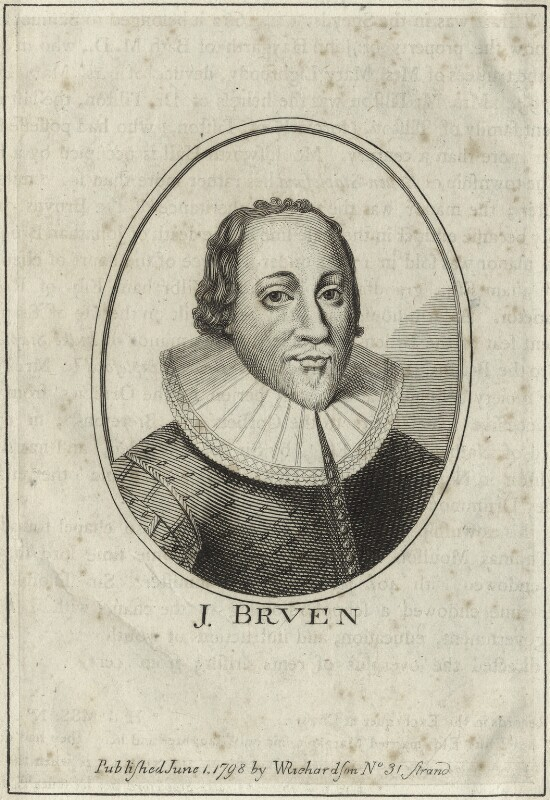 John Bruen, published by William Richardson, published 1798 - NPG D25453 - © National Portrait Gallery, London
