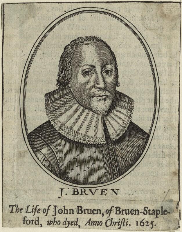John Bruen, after Unknown artist, possibly 17th century - NPG D25454 - © National Portrait Gallery, London