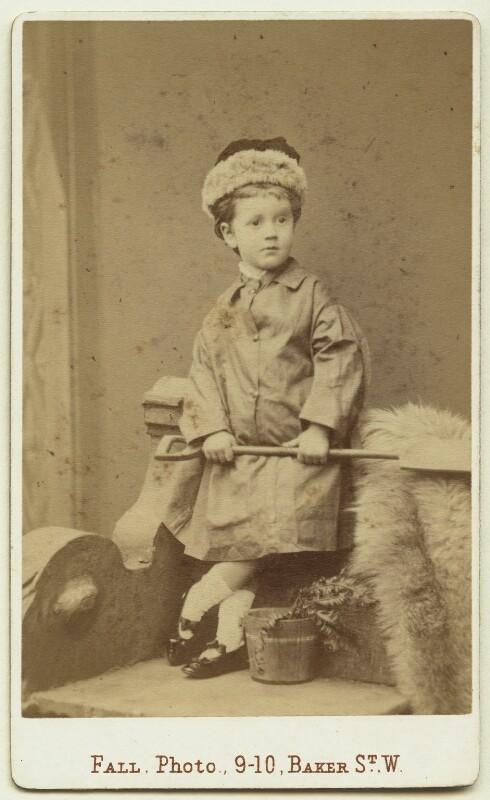 (Joan) Pernel Strachey, by Thomas Fall, 1879 - NPG x13150 - © National Portrait Gallery, London