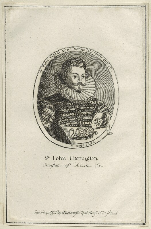 Sir John Harington, published by William Richardson, published 1796 - NPG D25495 - © National Portrait Gallery, London