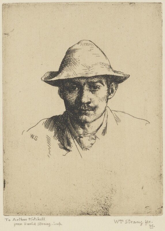 William Strang, by William Strang, printed by  David Strang, 1883 - NPG D31916 - © National Portrait Gallery, London