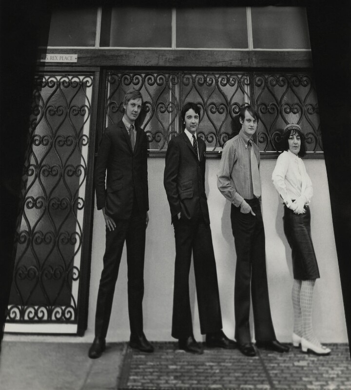 KarSec (Lawrence Ellar, Leslie Smithers, John Malcolm Couzins, Ida Kar), by Ida Kar, 1968 - NPG x129577 - © National Portrait Gallery, London