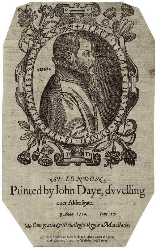 John Day, by Unknown artist, 1576 - NPG D25570 - © National Portrait Gallery, London