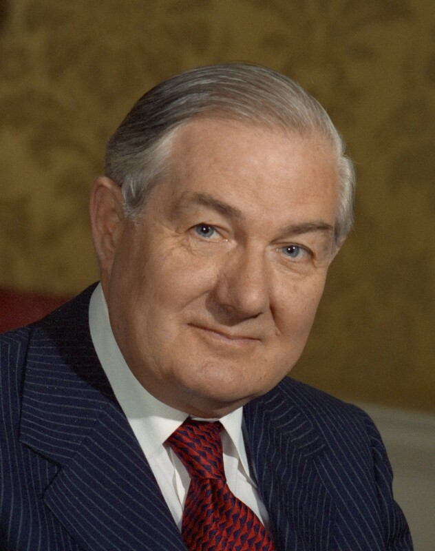 James Callaghan, by Bern Schwartz, 13 May 1977 - NPG P1147 - © National Portrait Gallery, London