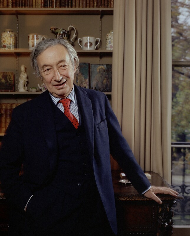 Sir Alfred Jules Ayer, by Bern Schwartz, 20 November 1976 - NPG P1139 - © National Portrait Gallery, London