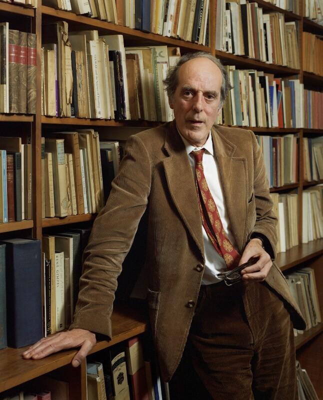 Benedict Nicolson, by Bern Schwartz, 4 July 1977 - NPG P1222 - © National Portrait Gallery, London