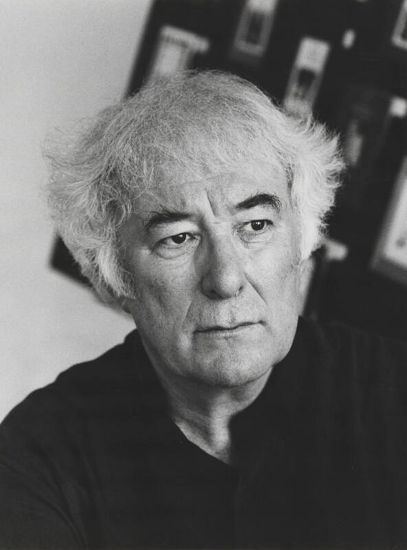 Seamus Heaney, by Mark Gerson, June 1996 - NPG x88253 - © Mark Gerson / National Portrait Gallery, London