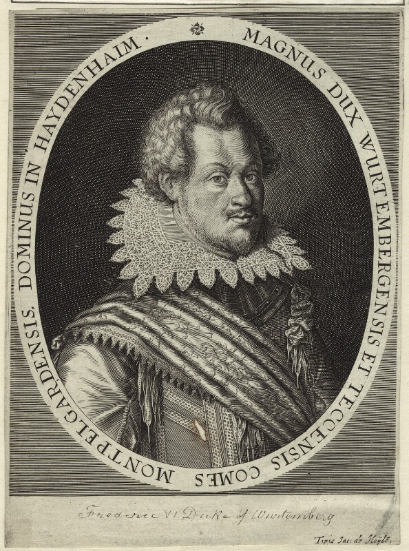 Frederick I, Duke of Württemberg, by Jacob ab Heyden, possibly late 17th century - NPG D25639 - © National Portrait Gallery, London
