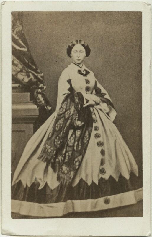 Princess Alice, Grand Duchess of Hesse, after John Jabez Edwin Mayall, (February 1861) - NPG x26115 - © National Portrait Gallery, London