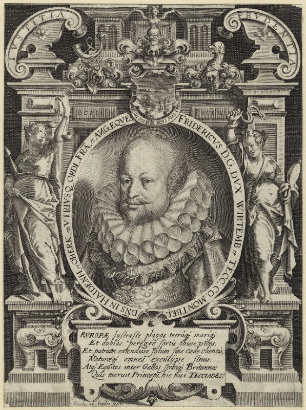 Frederick I, Duke of Württemberg, by Jacob ab Heyden, possibly late 17th century - NPG D25640 - © National Portrait Gallery, London