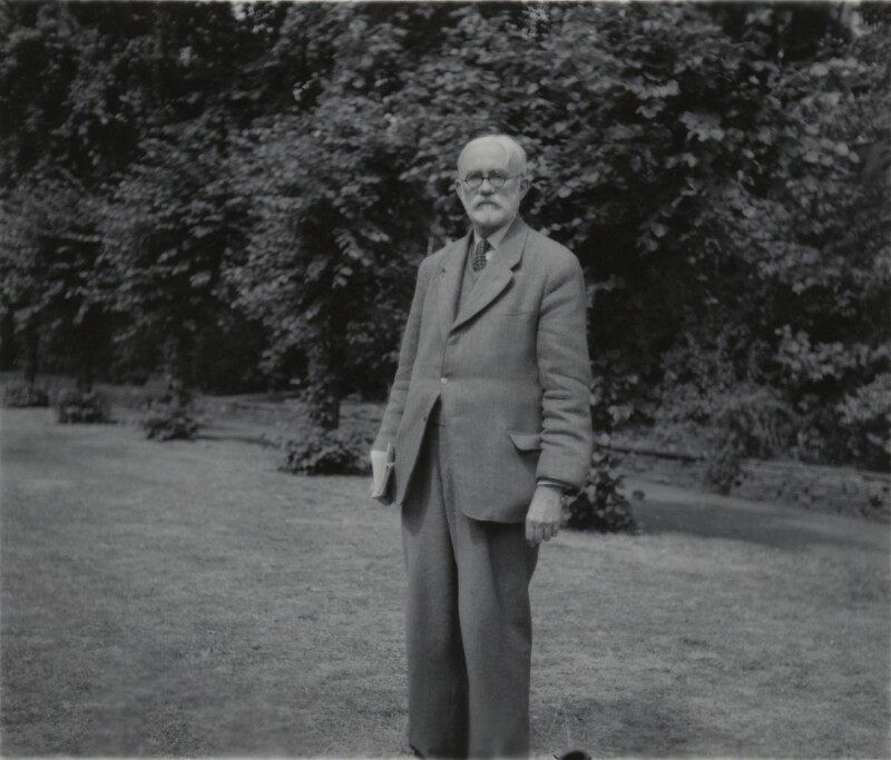James Beaumont Strachey, by Unknown photographer, late 1950s - NPG x27689 - © National Portrait Gallery, London