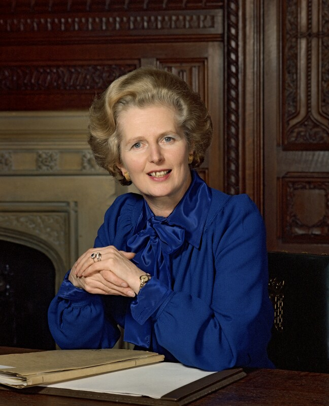 Margaret Thatcher, by Bern Schwartz, 24 May 1977 - NPG P1261 - © National Portrait Gallery, London