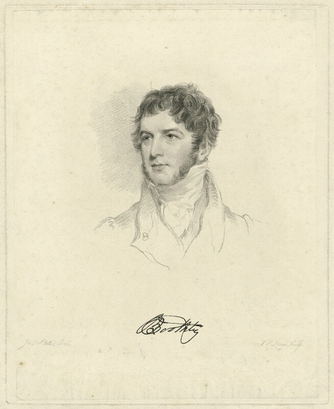 probably Sir William Boothby, 9th Bt, by Frederick Christian Lewis Sr, after  Joseph Slater, early 19th century - NPG D31994 - © National Portrait Gallery, London