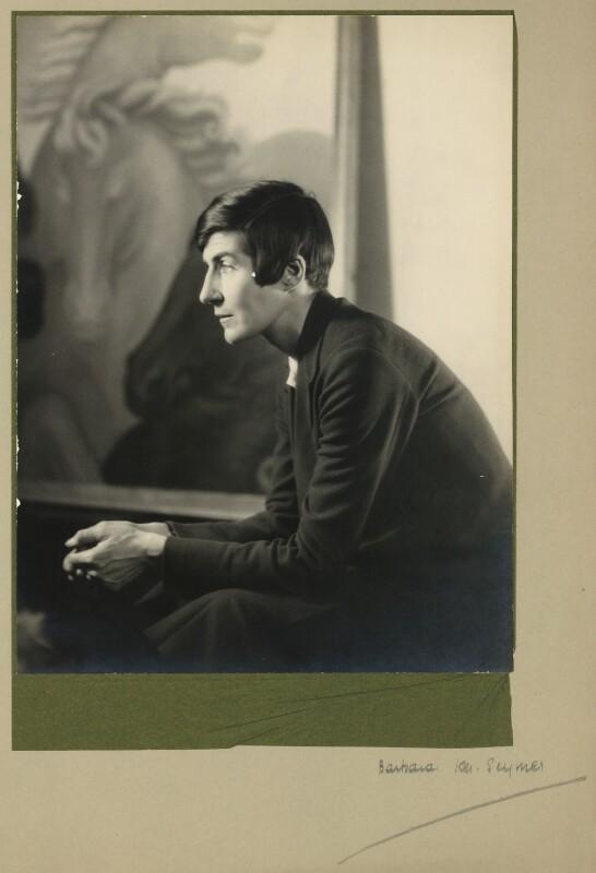 Alix Strachey, by Barbara Ker-Seymer, 1930s - NPG x13133 - ©The Estate of Barbara Ker-Seymer