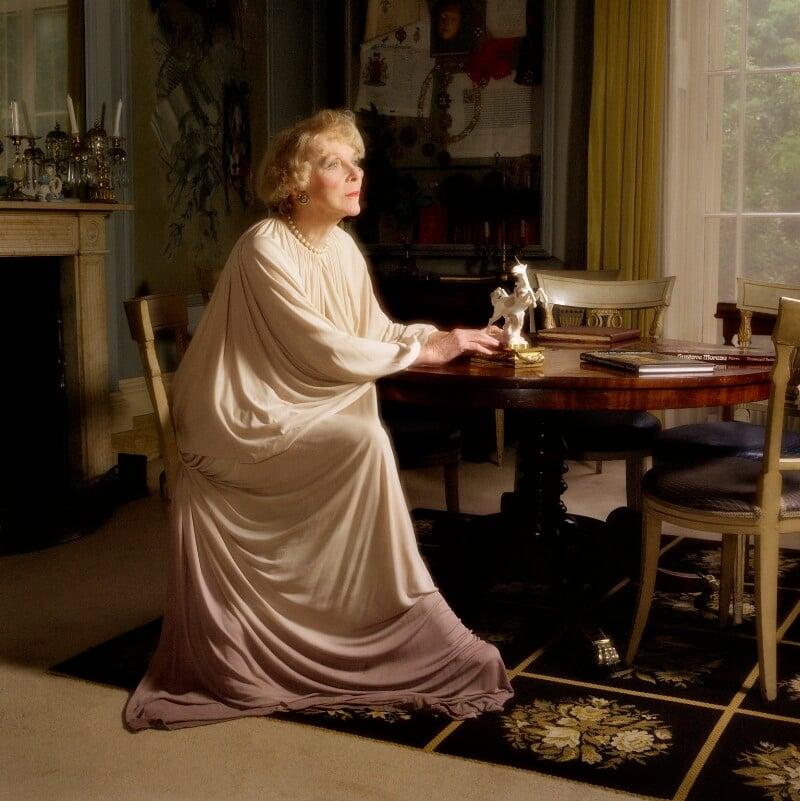 Lady Diana Cooper (Diana (née Manners), Viscountess Norwich), by Bernard Lee ('Bern') Schwartz, 1977 - NPG P1224 - © National Portrait Gallery, London