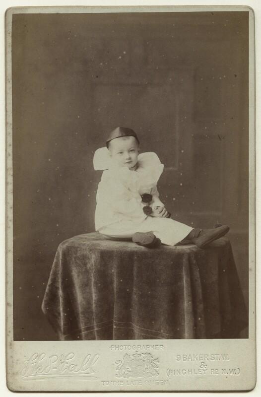 Julia Frances Strachey as Pierrot, by Thomas Fall, circa 1904 - NPG x13096 - © National Portrait Gallery, London