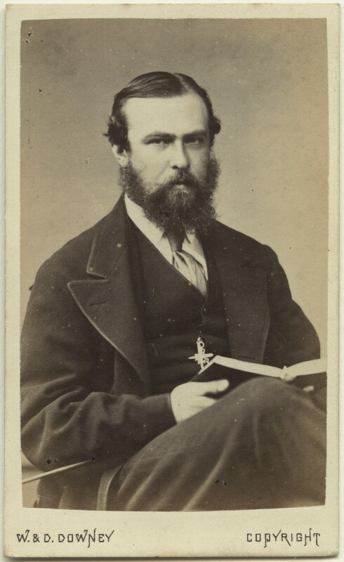 Louis IV, Grand Duke of Hesse and by Rhine, by W. & D. Downey, 1870s - NPG Ax46167 - © National Portrait Gallery, London