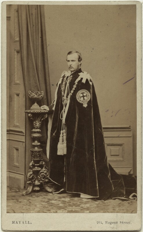 Louis IV, Grand Duke of Hesse and by Rhine, by John Jabez Edwin Mayall, published by  A. Marion, Son & Co, May 1863 - NPG x26124 - © National Portrait Gallery, London