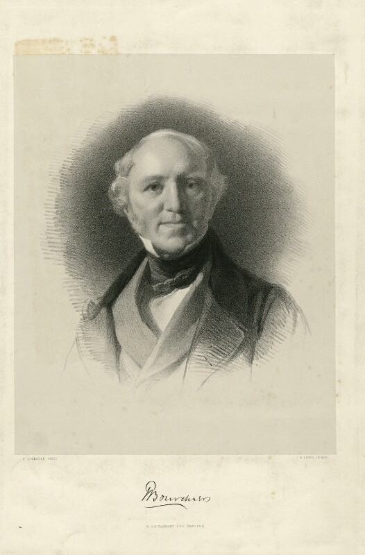 Sir Thomas Bourchier, by James Henry Lynch, printed by  M & N Hanhart, after  Samuel Laurence, (1846) - NPG D32010 - © National Portrait Gallery, London