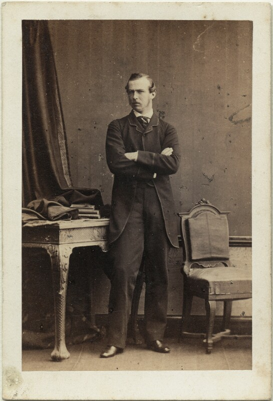 Louis IV, Grand Duke of Hesse and by Rhine, by Camille Silvy, 27 June 1861 - NPG Ax46798 - © National Portrait Gallery, London