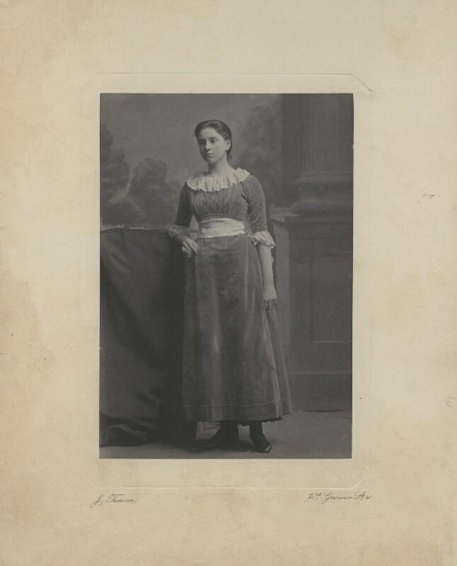 Pippa Strachey, by John Thomson, circa 1886 - NPG x13143 - © National Portrait Gallery, London