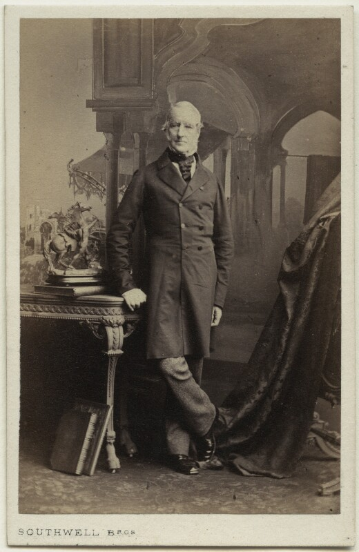 Lord Charles Fitzroy, by Southwell Brothers, 1862-1865 - NPG Ax7442 - © National Portrait Gallery, London