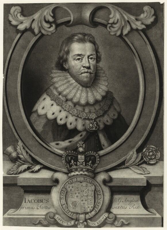 King James VI of Scotland and I of England was born in