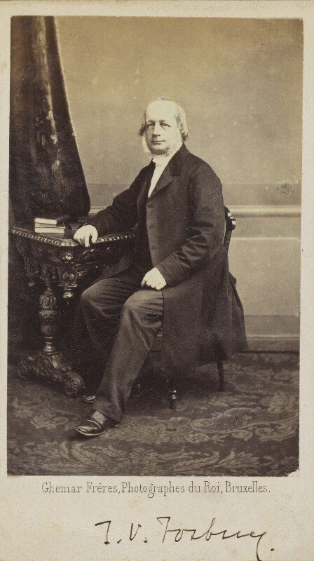 Thomas Vincent Fosbery, by Ghémar Frères, 1860s - NPG Ax68034 - © National Portrait Gallery, London