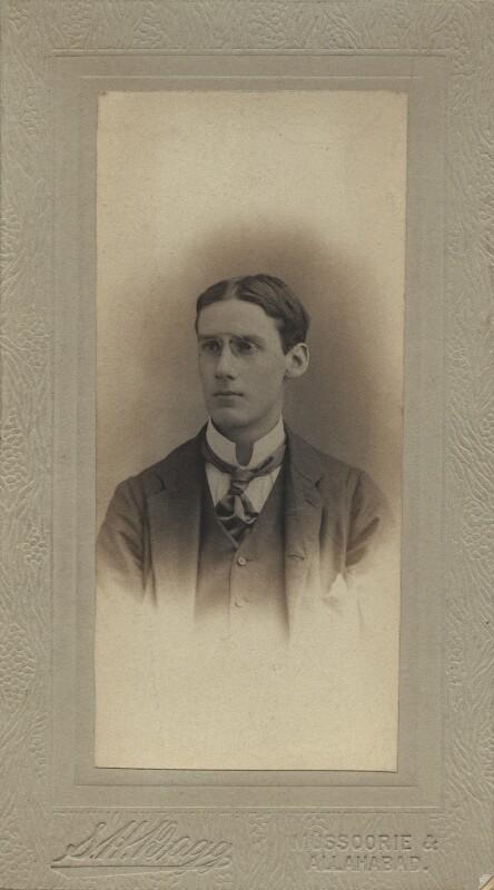 Oliver Strachey, by Sidney Herbert Dagg, 1890s - NPG x13863 - © National Portrait Gallery, London