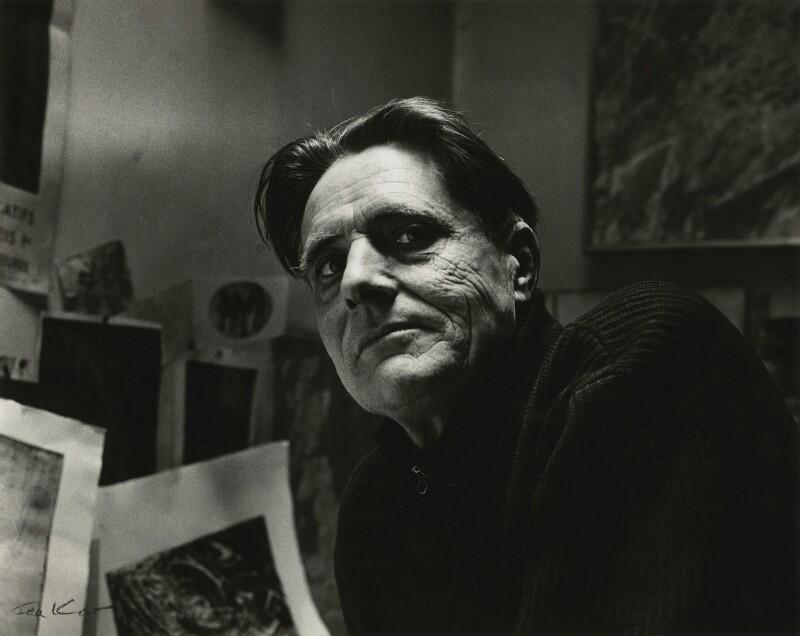 Stanley William Hayter, by Ida Kar, 1960 - NPG x131082 - © National Portrait Gallery, London