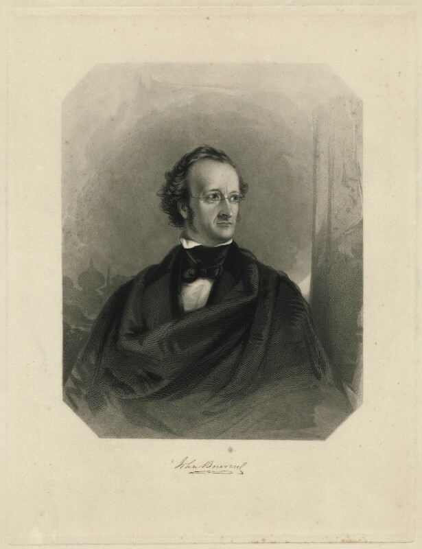 Sir John Bowring, by James Stephenson, after  Charles Allen Duval, 1844 - NPG D32025 - © National Portrait Gallery, London