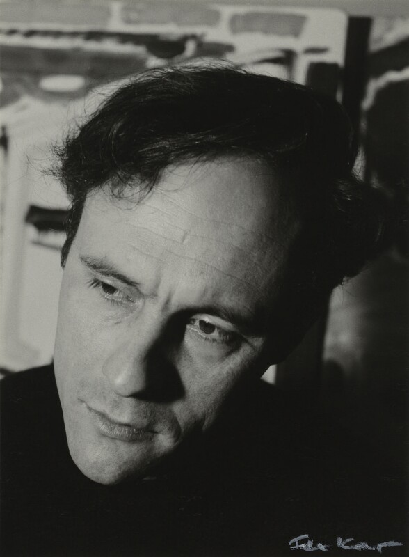 Patrick Heron, by Ida Kar, 1954 - NPG x131101 - © National Portrait Gallery, London