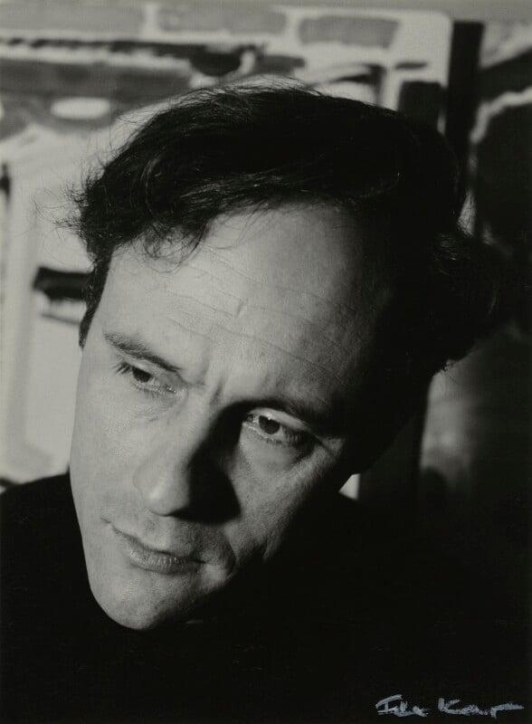 Patrick Heron, by Ida Kar, 1954 - NPG x131101 - © National Portrait Gallery, London