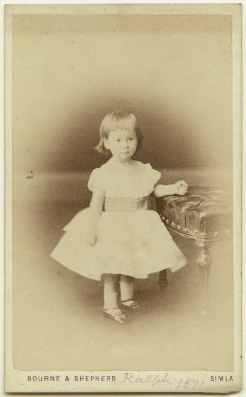 Ralph Strachey, by Bourne & Shepherd, 1871 - NPG x13155 - © National Portrait Gallery, London