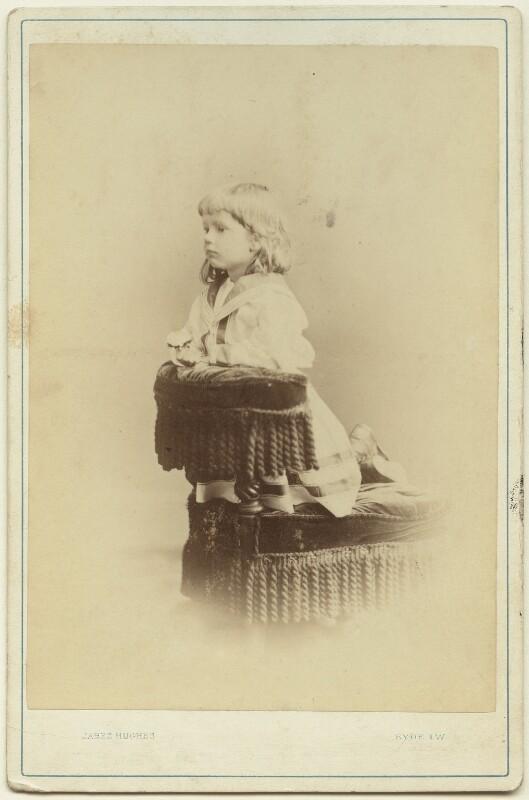 Ralph Strachey, by (Cornelius) Jabez Hughes, 1872 - NPG x13162 - © National Portrait Gallery, London