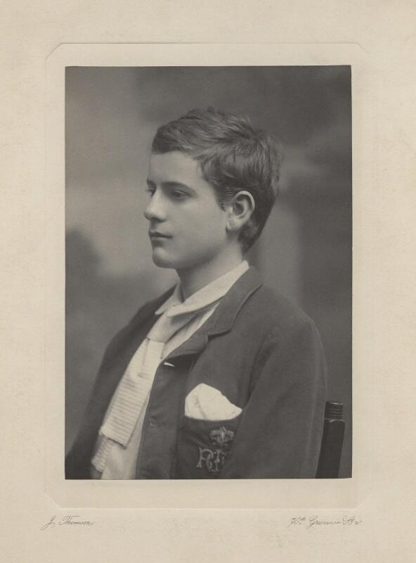 Ralph Strachey, by John Thomson, circa 1886 - NPG x13159 - © National Portrait Gallery, London