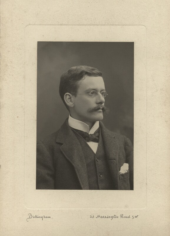 Ralph Strachey, by Henry Bullingham, 1890s - NPG x13161 - © National Portrait Gallery, London