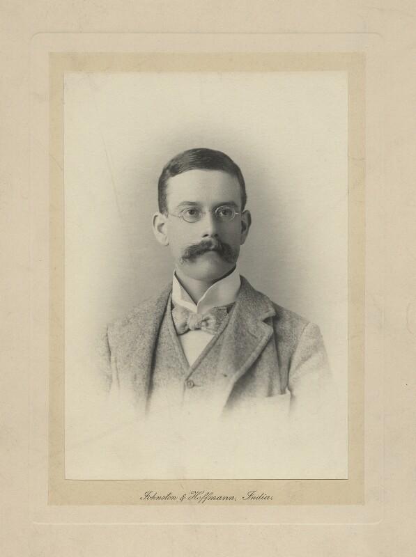 Ralph Strachey, by Johnston & Hoffmann, 1890s - NPG x38599 - © National Portrait Gallery, London